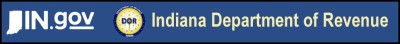 Indiana DOR logo